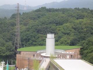 愛知万博日本政府館屋上緑化写真
