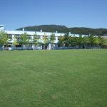 新島・式根島小中学校校庭緑化
